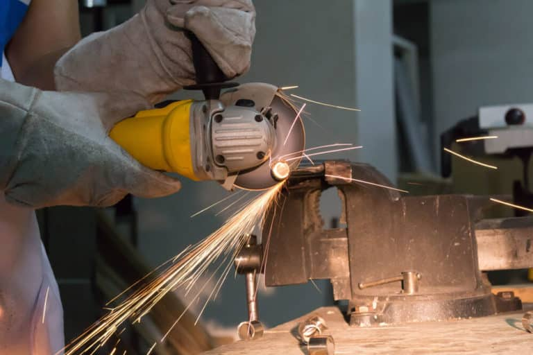 Can an Angle Grinder Cut Metal?