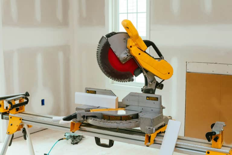 How to Use a Miter Saw to Cut Baseboards Flawlessly!