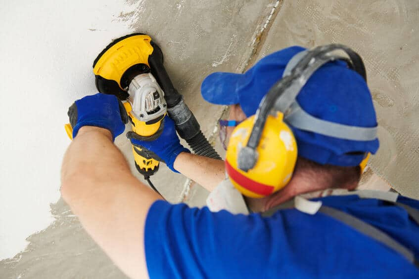How to Use an Angle Grinder to Smooth Concrete