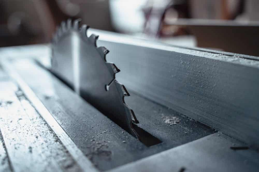 Can a Table Saw Cut Metal