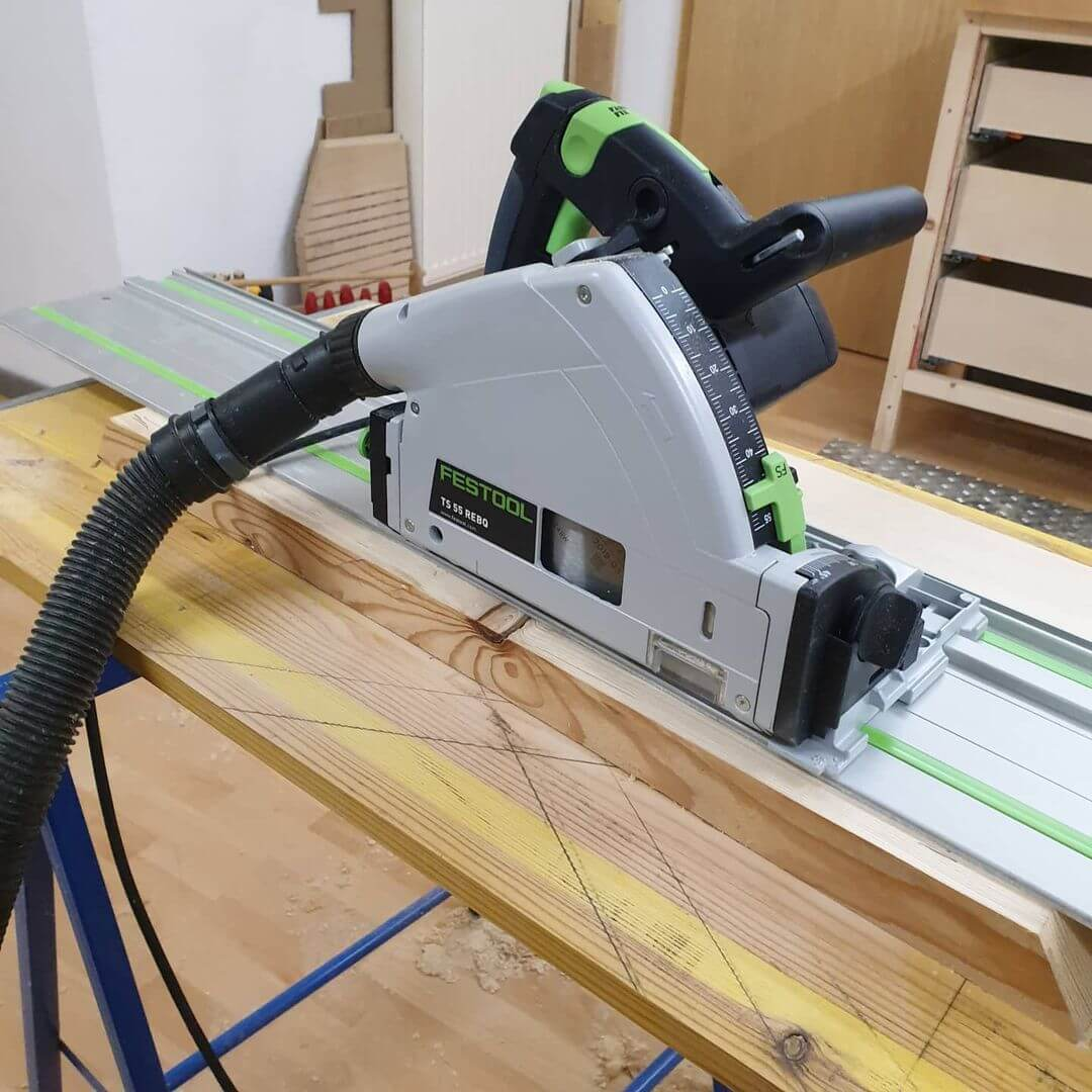 How Do You Convert a Circular Saw to a Track Saw