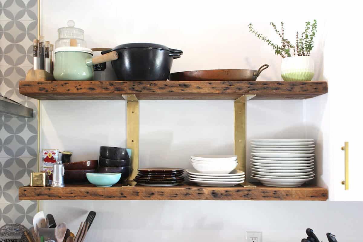 Douglas Fir Wood Shelves