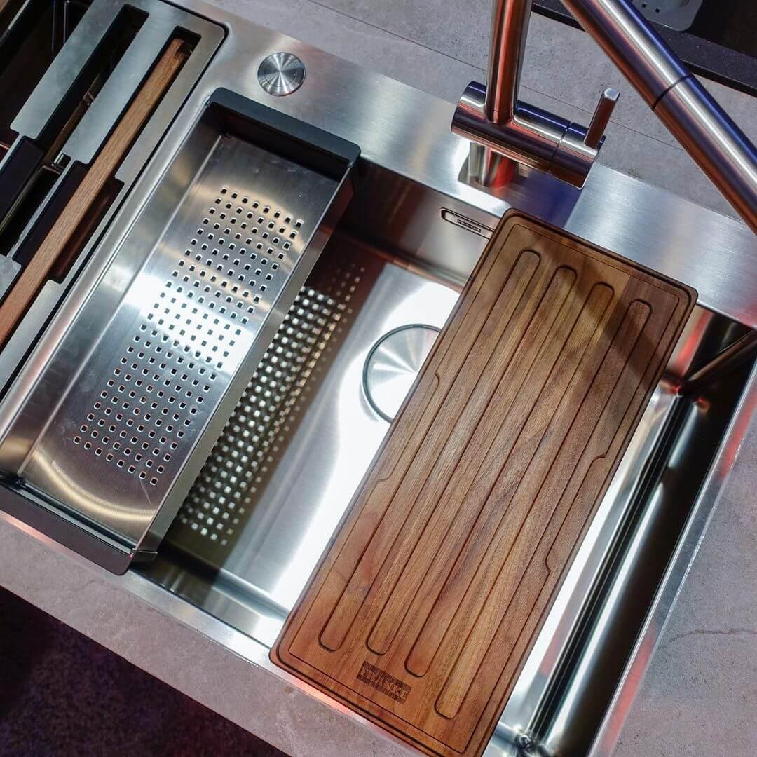 Deep Clean a Stainless Steel Sink